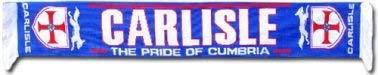 Carlisle United Football Scarf