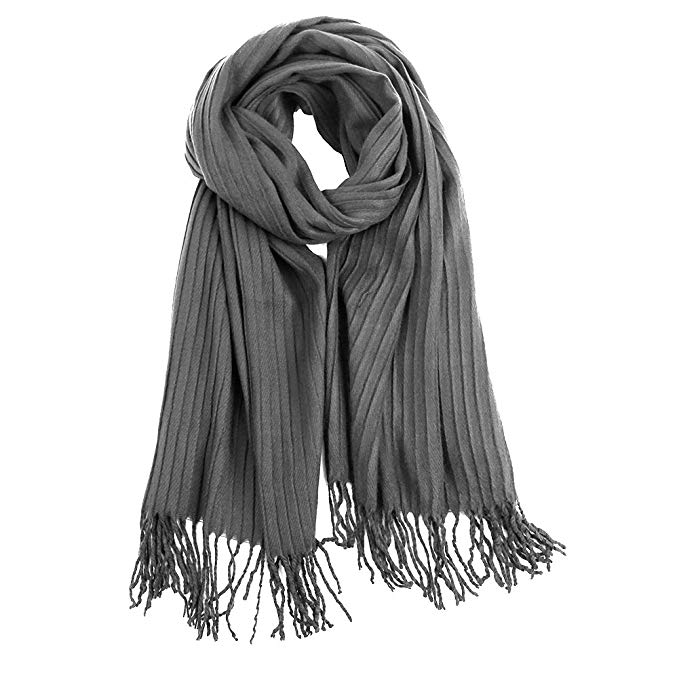 VBIGER Fashionable Unisex Long Soft Shawl Scarf Double Sided Winter Warm Wraps