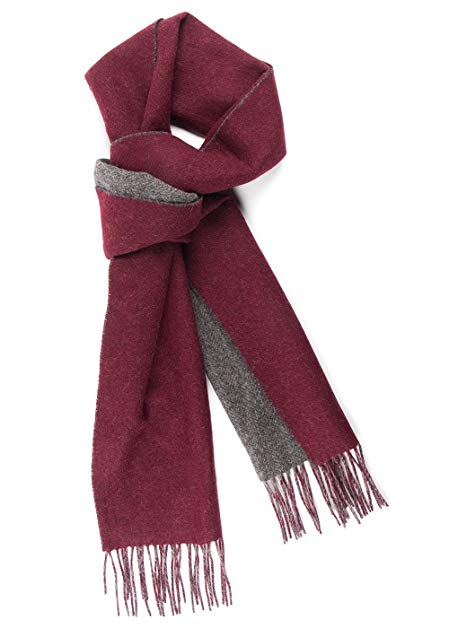 The Tie Bar River West Solid Wool Scarf