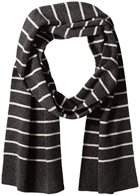 Williams Cashmere Men's Micro Stripe Scarf, One Size