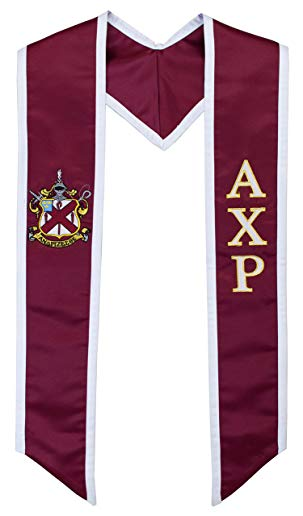 Alpha Chi Rho Fraternity Deluxe Embroidered Graduation Stole