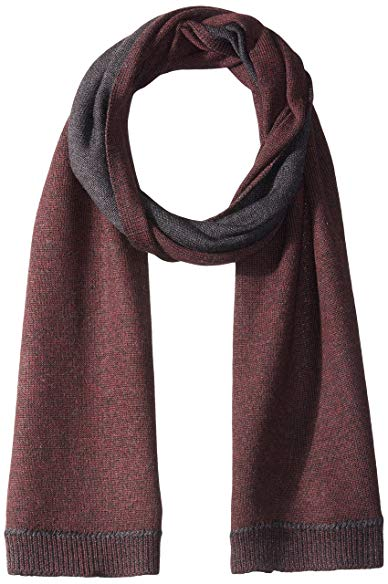 John Varvatos Star U.S.A Men's Rib Start Stop Scarf