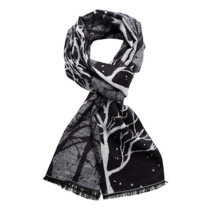 Sangbo Soft Cashmere Winter Scarfs for Women-Long Fashion Men Scarfs