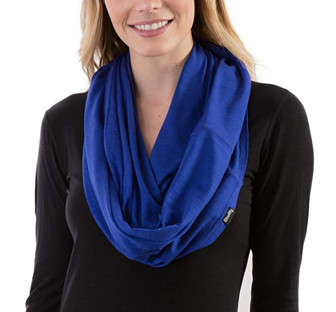 Woolly Clothing Women's Merino Wool Infiniti Scarf