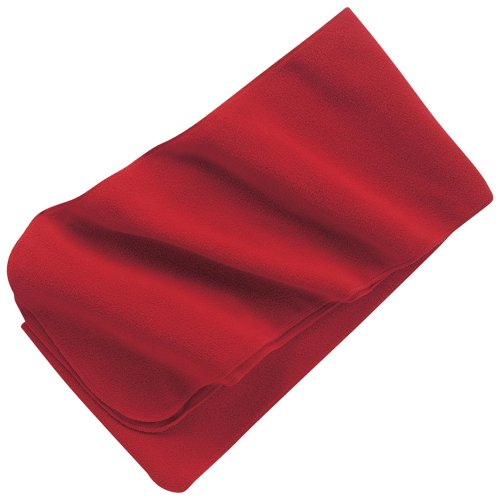 Port Authority - Extra Long Fleece Scarf, Red