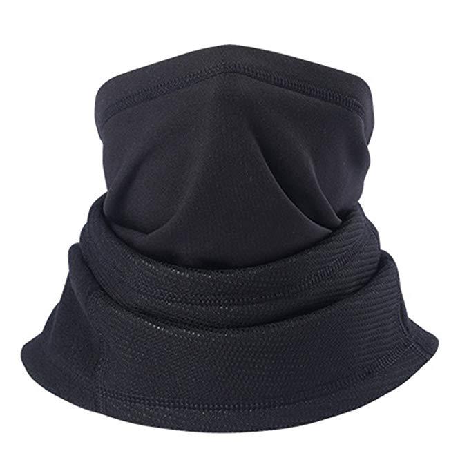 Magarrow Unisex Neck Warmer Winter Windproof Mouth Face Mask Outdoor Sports Neck Warmer