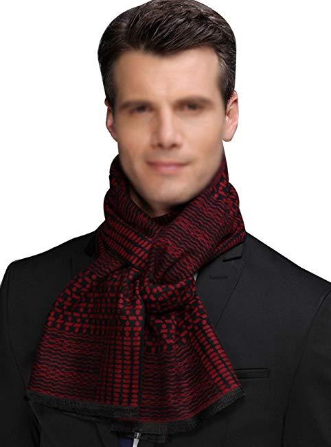 Monique Men Fashion Long Scarf Muffler Winter Warm Collar Neck Warmer