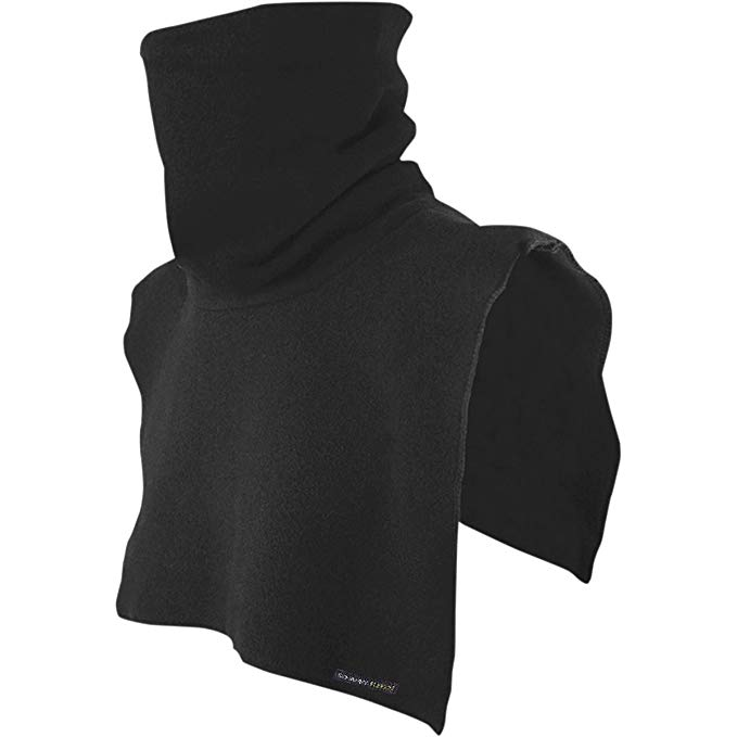 Schampa Original Tall Neck Dickie (Black, One Size)