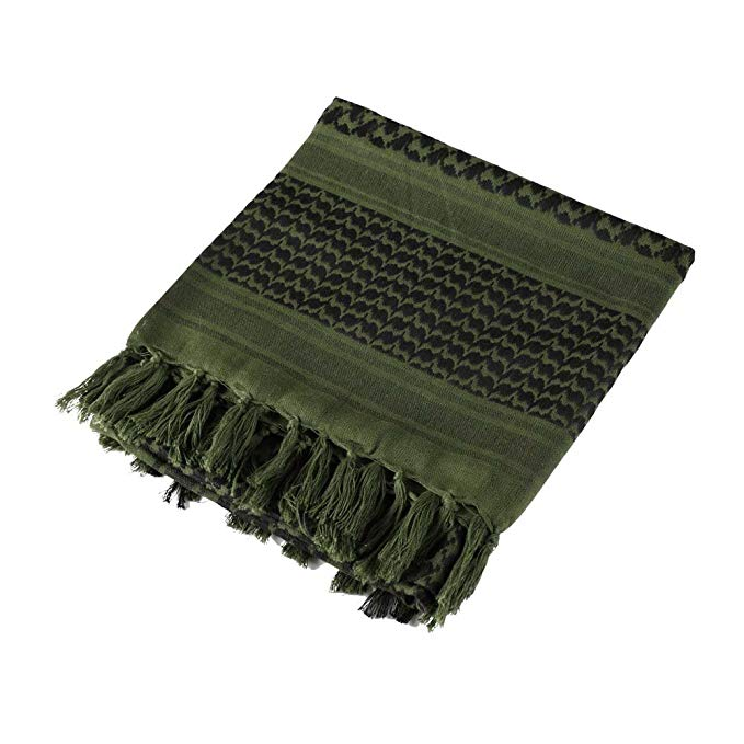 Men's Multi-function Arabian Shemagh Military Scarf Tactical Desert Keffiyeh