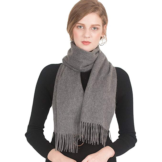 "Luxurious Men and Women's 100 % Cashmere cosy and stylish scarfs 63""x12"""