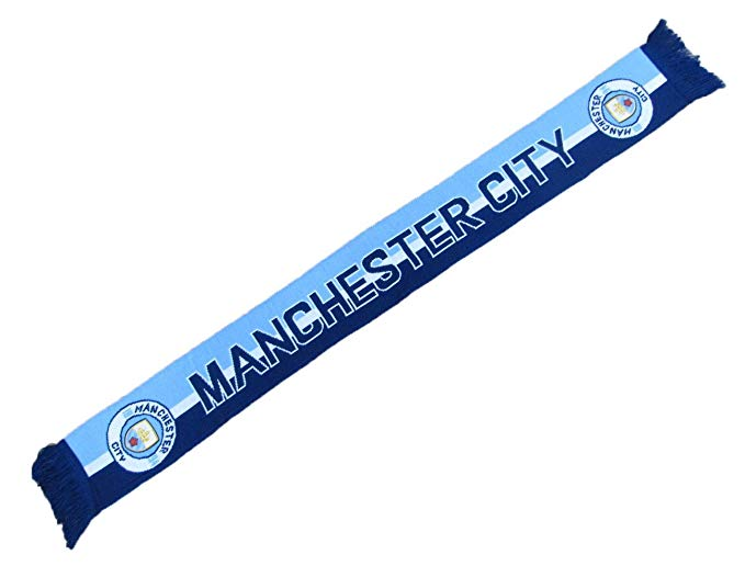 Manchester City Football Club Icon Fan Scarf