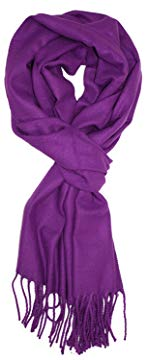 Paskmlna Super Soft Luxurious Classic Cashmere Feel Winter Scarf