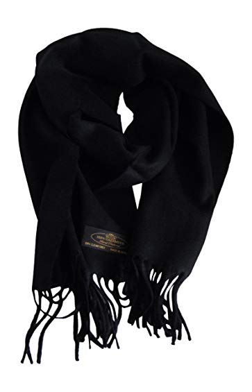"Anny's 100% Pure Cashmere Scarf 12""x72"" with Gift Bag - Silky Soft Cashmere Scarf Gift (28 Colors)"