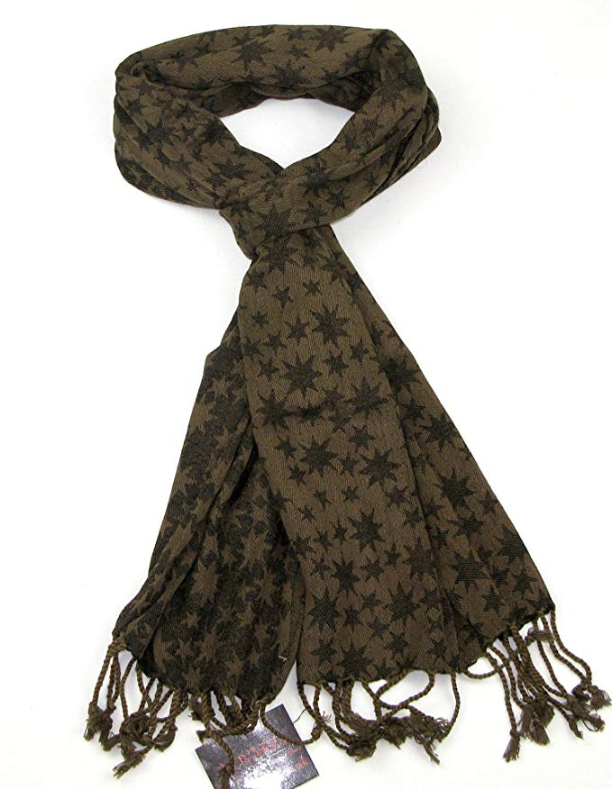 Lovarzi Star Scarf for Men and Women - Try fashion cotton scarves