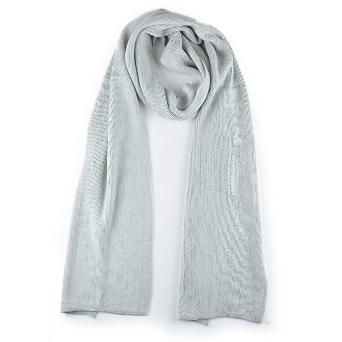 Synthiiz Premium Solid Color Cashmere Feel Unisex Winter Scarf