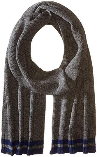 Ben Sherman Men's Placed Tipping Knit Scarf