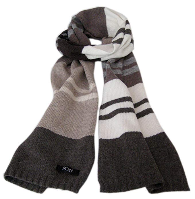 Frost Wool & Cashmere Scarf Soft Warm Winter Scarf